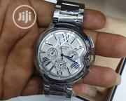 Cartier Chronograph Silver Watch | Watches for sale in Lagos State