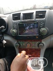 Toyota Highlander 2008 Dvd With Reversing Camera And Bluetooth Etc | Vehicle Parts & Accessories for sale in Lagos State, Mushin