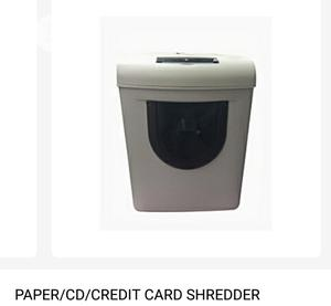 Brand New Imported 3 In 1 Paper Shredding Machine Big Size. Sanyo Pd