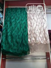 Sequence Lace Green White Color | Clothing for sale in Lagos State, Ojo