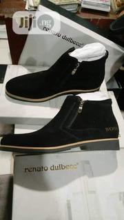 Men's Exclusive Suede Leather Boots - Brown | Shoes for sale in Lagos State, Kosofe