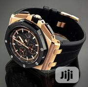 Audemars Piguet Royal Oak Chronograph Black Dial Swiss Watch | Watches for sale in Lagos State, Lekki Phase 2