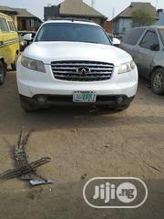 Infiniti FX35 2005 Base 4x4 (3.5L 6cyl 5A) White   Cars for sale in Lagos State, Ifako-Ijaiye
