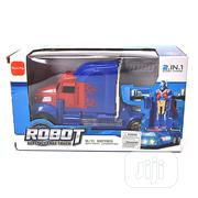2-in-1 Robot Super Change Truck With Lights & Sound | Toys for sale in Lagos State, Ifako-Ijaiye