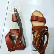 Sandal All Going for 3500  Real Leather Sandals for Girls  Sz 1,2,4. | Children's Shoes for sale in Abuja (FCT) State, Central Business District