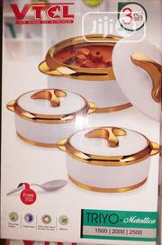 VTCL Food Warmer 3pes | Kitchen & Dining for sale in Lagos State, Lagos Island
