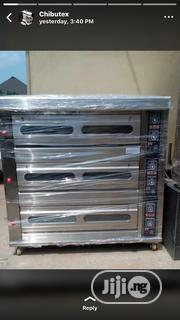 Industrial Gas Oven 3 Deck 9trays | Industrial Ovens for sale in Edo State, Benin City