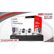 Hikvision HD Surveillance Cameras And DVR 8channels Kit | Security & Surveillance for sale in Lagos State, Ikeja