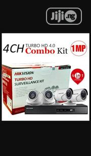 Hikvision Surveillance HD Turbo 4channels Cameras And DVR Kit | Security & Surveillance for sale in Lagos State, Ikeja