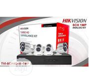 HIKVISION 8channel 1MP TVI-8CH4D4B Surveillance Kit | Security & Surveillance for sale in Lagos State, Ikeja