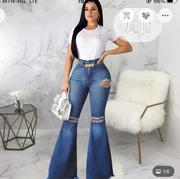 Ladies Denim Jeans Buttcut | Clothing for sale in Lagos State, Gbagada