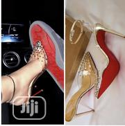 Ladies Transparent Heel Sandal | Shoes for sale in Lagos State