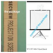 Projector Foldable Screen With Tripod | Accessories & Supplies for Electronics for sale in Kwara State, Offa