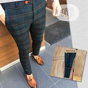 Designer Pant Trousers Stretch Stripes | Clothing for sale in Lagos State, Lagos Island
