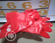 Safety Red Handglove | Safety Equipment for sale in Abuja (FCT) State, Jabi