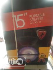 X-stallion Portable Speaker With Two Microphone | Audio & Music Equipment for sale in Lagos State, Ikeja