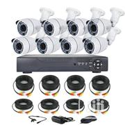 Cctv AHD 2MP Security Camera And 8 Channels DVR Machine With Internet | Security & Surveillance for sale in Lagos State, Ojo
