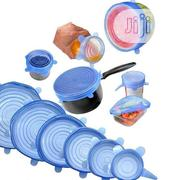 Silicone Stretch Lids Reusable Storage Covers- 6pcs In A Pack | Kitchen & Dining for sale in Lagos State, Ojodu
