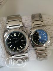 Bvlgari Silver Chain Watch for Couple's | Watches for sale in Lagos State, Lagos Island