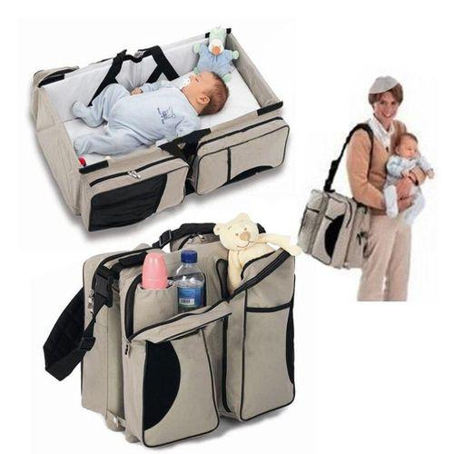 3 In 1 Diaper Bag And Bed