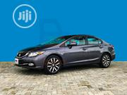 Honda Civic 2015 Gray | Cars for sale in Lagos State, Lekki Phase 1