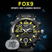 FOX9 16gbwifi Waterproof 720P Spy Watch Hidden DVR DV Video Camera WB1 | Security & Surveillance for sale in Rivers State, Port-Harcourt
