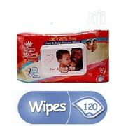 Prince & Princess Bady Wipes- 120 Count   Baby & Child Care for sale in Lagos State, Amuwo-Odofin