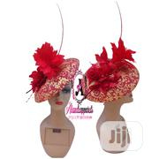Red Fascinator Hat | Clothing Accessories for sale in Lagos State, Ikorodu
