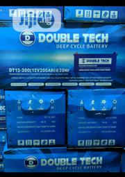 Double Tech Inverter Battery 200ah | Electrical Equipment for sale in Lagos State, Ojo