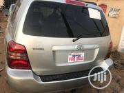 Toyota Highlander Limited V6 4x4 2004 Silver | Cars for sale in Lagos State, Ifako-Ijaiye