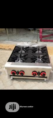 4burners Gas Cooker. Industrial Gas Cooker | Restaurant & Catering Equipment for sale in Lagos State, Ojota