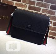 Gucci Signature Leather Messenger Bag Available   Bags for sale in Lagos State, Surulere