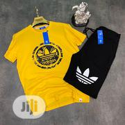Adidas Tees N Short New | Clothing for sale in Lagos State, Ojo