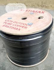 Cat 6 Cable Outdoor Pure Copper By 300meter | Accessories & Supplies for Electronics for sale in Lagos State, Ojo