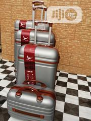 Wheel Silver Color Trolley Bags (4 Sets) For Family Vacations | Bags for sale in Lagos State, Ikeja