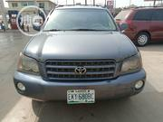 Toyota Highlander 2003 Blue | Cars for sale in Lagos State, Alimosho