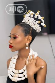 Rent White Plastic Traditional Wedding Beaded Accessory   Wedding Wear for sale in Lagos State, Oshodi-Isolo