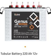 220ah/12V Genus Invomax Tubular Battery | Solar Energy for sale in Lagos State, Ikeja