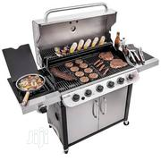 6 Burners Gas Bbq Grill With Side Cooker | Kitchen Appliances for sale in Lagos State, Ojo