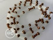 Glow In Dark Waist Bead Mixed With Crystal Bead | Jewelry for sale in Oyo State, Oluyole