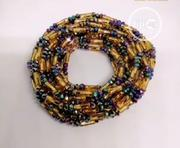 Gold Straw Bead Mixed With Crystal Waist Bead | Jewelry for sale in Oyo State, Oluyole
