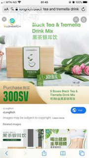 Longrich Black Tea and Tremella Drink Mix | Vitamins & Supplements for sale in Lagos State