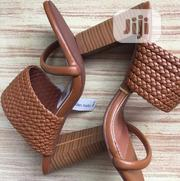 Brown Design Ladies High Heel Shoes | Shoes for sale in Lagos State, Ajah