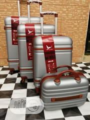 Nice Silver Color Traveling Luggage Bags (4 Sets) For The Best Price | Bags for sale in Lagos State, Ikeja