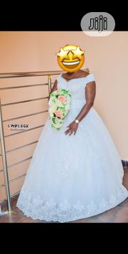 Pure White Wedding Gown for Sale | Wedding Wear for sale in Lagos State, Ajah