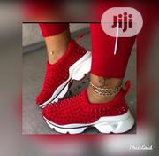 Beautiful Female Red Spiky Sneakers | Shoes for sale in Lagos State, Surulere