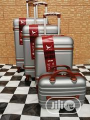 Silver Color Luggage Trolley Bags (4 Sets) For Travelers | Bags for sale in Lagos State, Ikeja