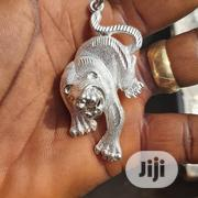 925 Original Silver Lion Pendant | Jewelry for sale in Lagos State, Amuwo-Odofin