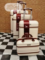 Cream Colored Luxury Travel Luggage Bags | Bags for sale in Lagos State, Ikeja