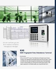 ZKT K40 Time Attendance System | Safety Equipment for sale in Lagos State, Ikeja